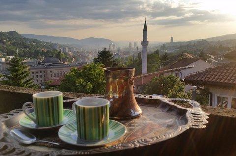 Kalandokkal teli utazás busszal Szarajevóba