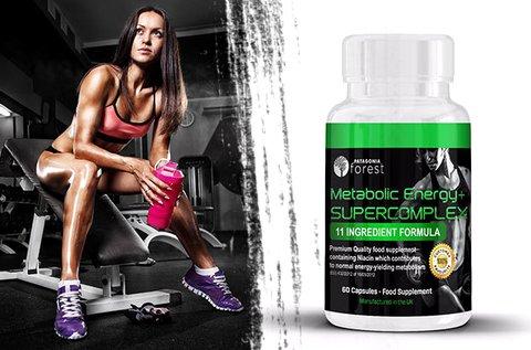 Metabolic Energy+ Supercomplex kapszula