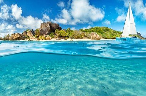 1 hetes álomvakáció a Seychelle-szigeteken
