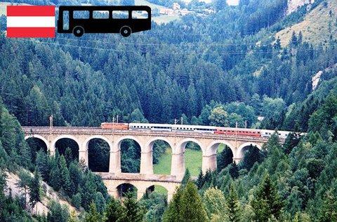 Vonatozás és felvonózás Semmeringen