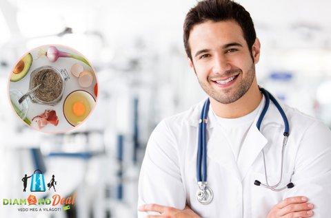 Ételintolerancia és allergia vizsgálat 200 féle anyagra