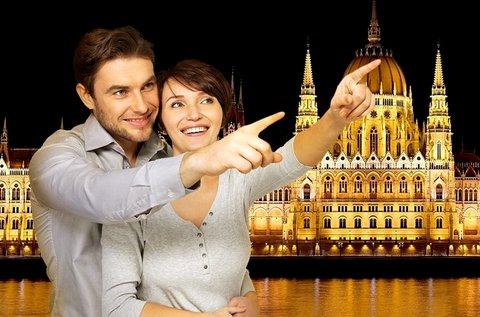 Romantikus sétahajózás a Dunán, kellemes zenével