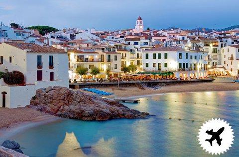 8 nap a spanyol Calella tengerpartján repülővel