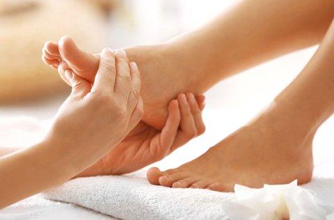 30 perces keringésjavító talpreflexológiai kezelés