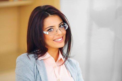 Szemüveg készítés választható divatos kerettel