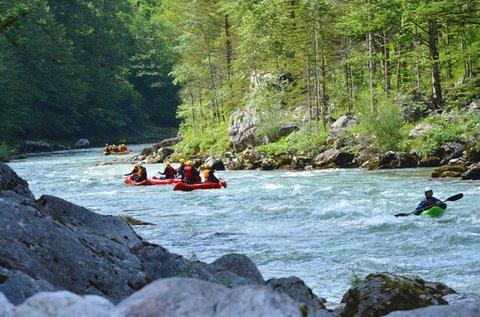 1 napos Salza Classic rafting túra Ausztriában
