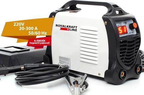 Royal Kraft 300 A-os inverteres hegesztőgép