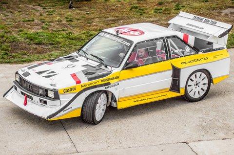 3 körös Audi S1 Group B élményvezetés