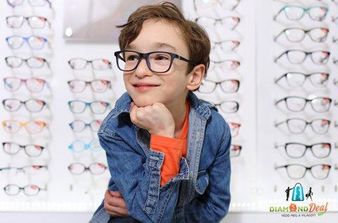 Komplett gyermek szemüveg 7 éves korig