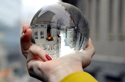 Üveggömb egyedi fotók, videók készítéséhez