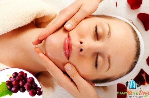 Bőrfeszesítés vörös szőlővel és hyaluronnal