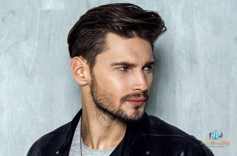 Férfi hajvágás mosással és fejmasszírozással