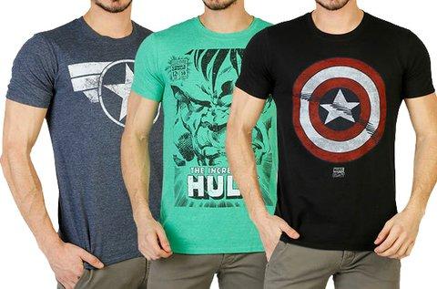Marvel férfi pólók kerek nyakkal, több méretben
