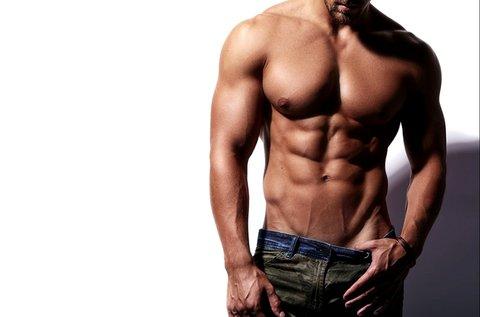 Hollywood style férfi intim gyantázás cukorpasztával