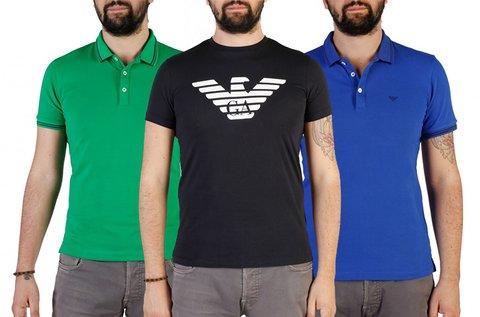 Emporio Armani rövid ujjú férfi pólók