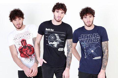 Star Wars pamut férfi póló