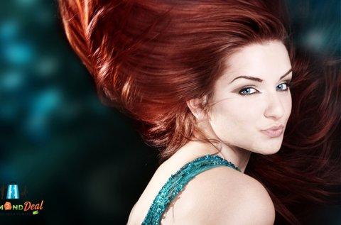 Hajgyógyászati kezelés hajvég ápolással