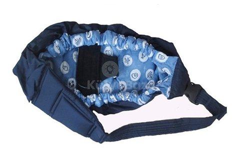 Vállra akasztható babahordozó táska