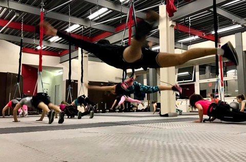 1 alkalmas bungee fitness óra