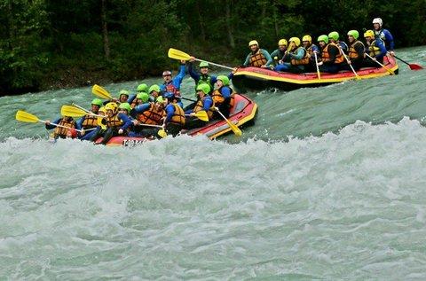 Rafting élmények 1 fő részére Ausztriában