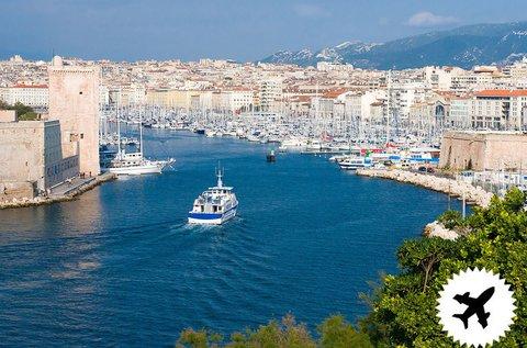4 napos kalandozás Marseille-ben repülővel
