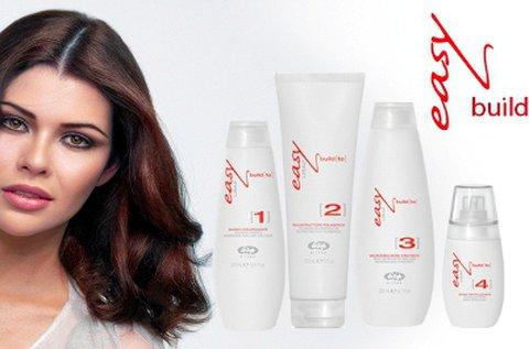 Lisap Easy build hajújjáépítő kezelés