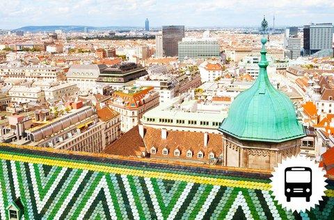 Buszos utazás Bécsbe választható programmal
