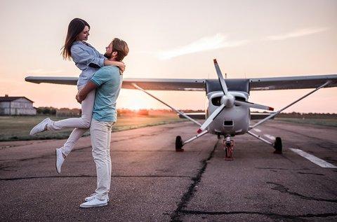 Romantikus repülős út akár vacsorával Esztergomba