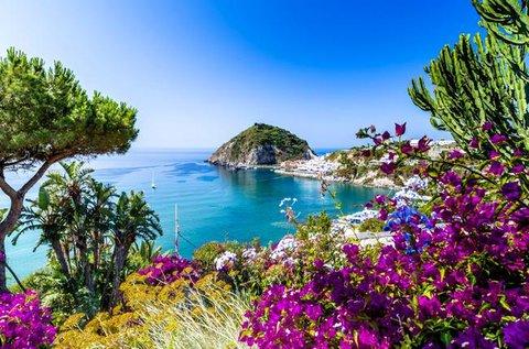 8 napos vakáció Ischia nyugati partján repülővel