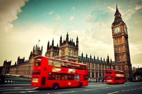 Londoni városlátogatás repülővel