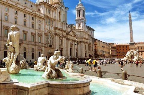 Városlátogatás Rómában repülővel