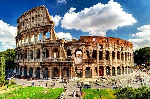 Csodálatos pihenés Rómában repülővel