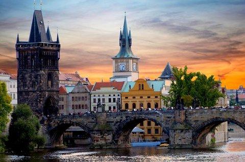 Gondtalan kikapcsolódás a száztornyú Prágában