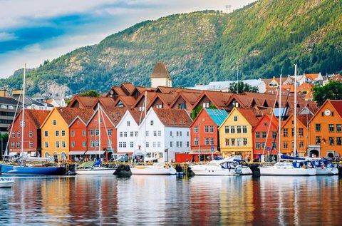 Látogatás a lenyűgöző Norvégiában repülővel