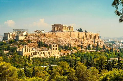 Városnézés a történelmi Athénban repülővel