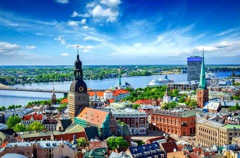 Hangulatos pihenés a lett fővárosban, Rigában