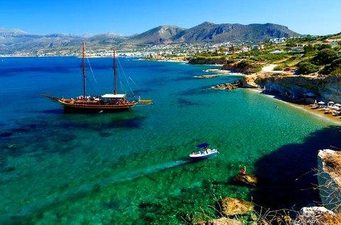 Fantasztikus vakáció Kréta szigetén repülővel