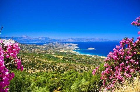 Napfényes tengerparti nyaralás Krétán
