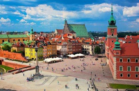 3 vagy 4 napos látogatás Varsóban repülővel