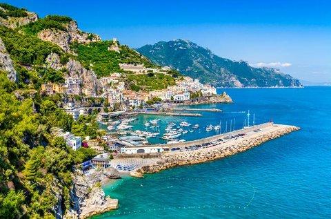 8 nap a festői szépségű Kampániában repülővel
