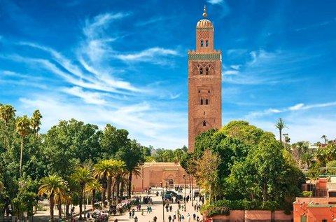 Kalandozás az egzotikus Marrakesh-ben repülővel