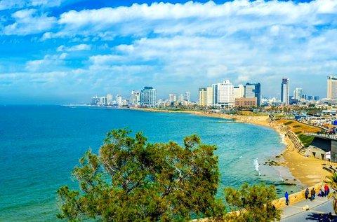 4 napos pihenés a gyönyörű Tel-Avivban repülővel