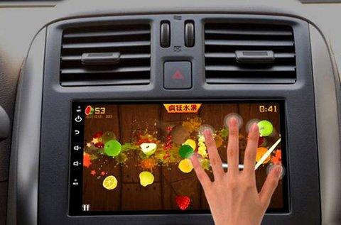 Androidos multimédiás rendszer GPS funkcióval