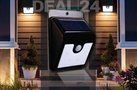Mozgásérzékelős napelemes LED lámpa