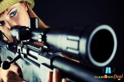 60 lövéses élménylövészet 3 féle fegyverrel