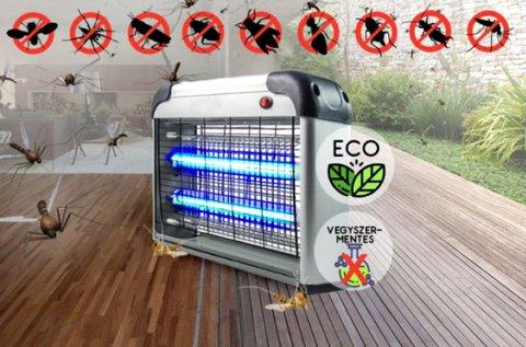 Elektromos UV LED szúnyog- és rovarcsapda