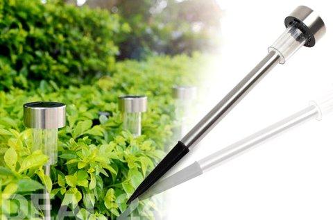 10 db napelemes kerti LED lámpa