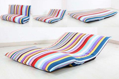 3 funkciós hajtogatható matracágy, kanapé