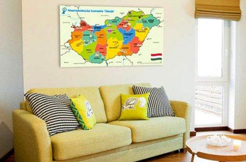 Kaparós Magyarország, Európa vagy világtérkép