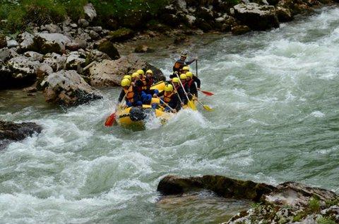 Raftingolás 1 fő részére az ausztriai Salza folyón